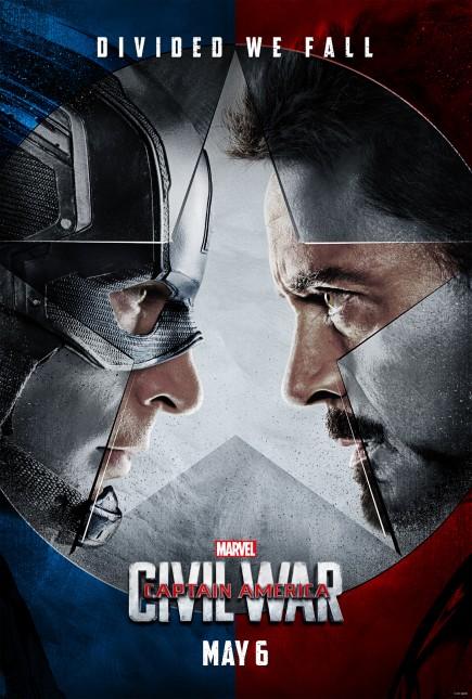 poster capitan america guerra civil