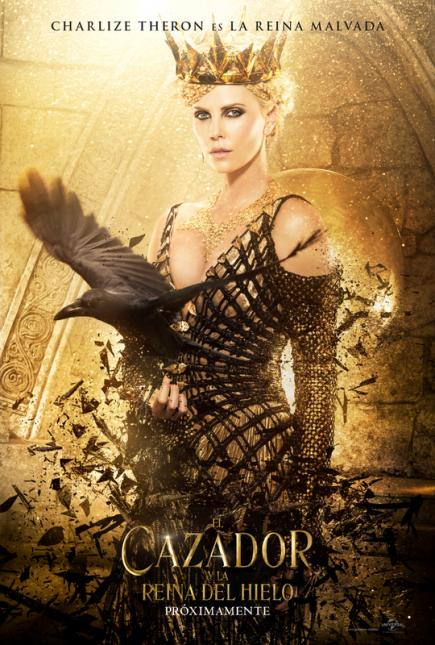 cazador reina de hielo poster charlize theron