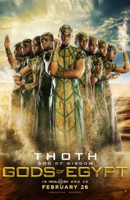 dioses egipto thot chadwick boseman