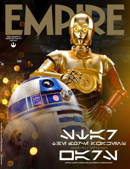 star wars despertar fuerza empire c3p0 r2d2