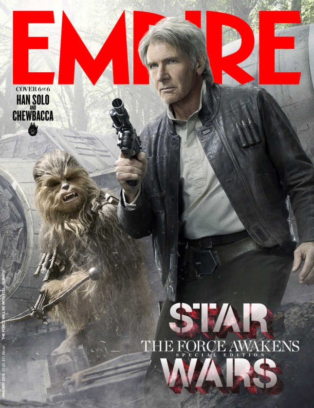 star wars despertar fuerza empire han solo chewbacca