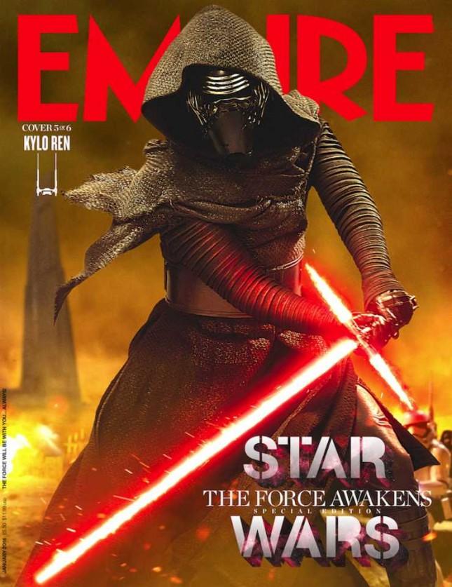 star wars despertar fuerza empire kylo ren