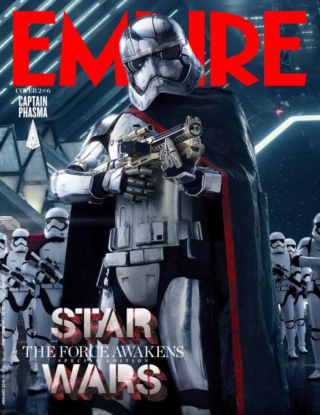 star wars despertar fuerza empire capitan phasma