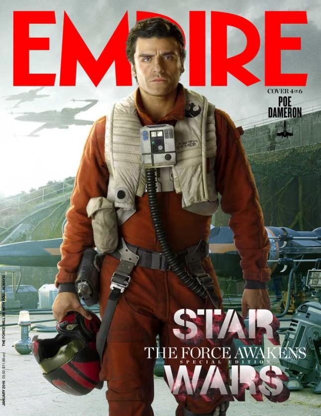 star wars despertar fuerza empire poe dameron