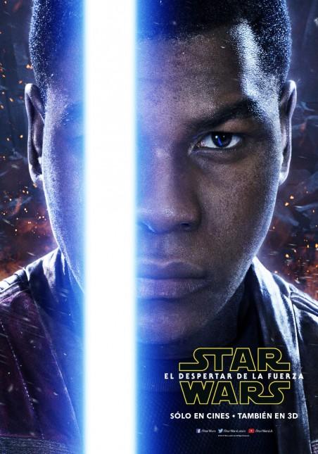 star wars poster despertar fuerza finn