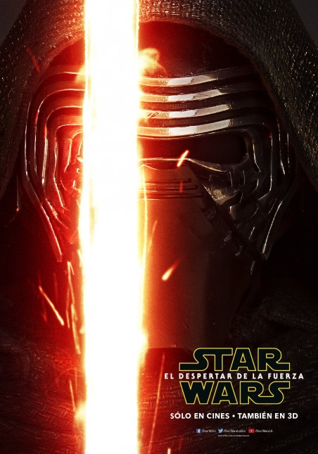 star wars poster despertar fuerza kylo ren