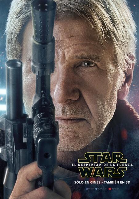 star wars poster despertar fuerza han solo