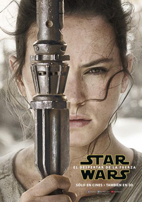 star wars poster despertar fuerza rey