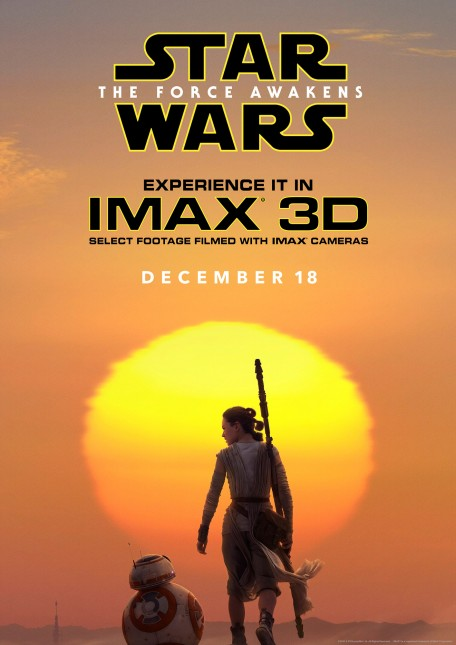 imax poster star wars despertar fuerza