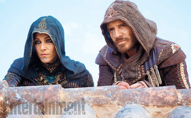 ariane labed michael fassbender assassins creed