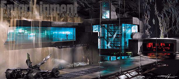 arte conceptual baticueva batman v superman