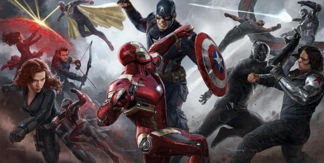 capitan america civil war arte conceptual
