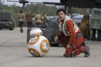 poe dameron bb8 star wars despertar fuerza