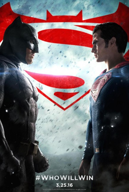 batman v superman poster quien ganara