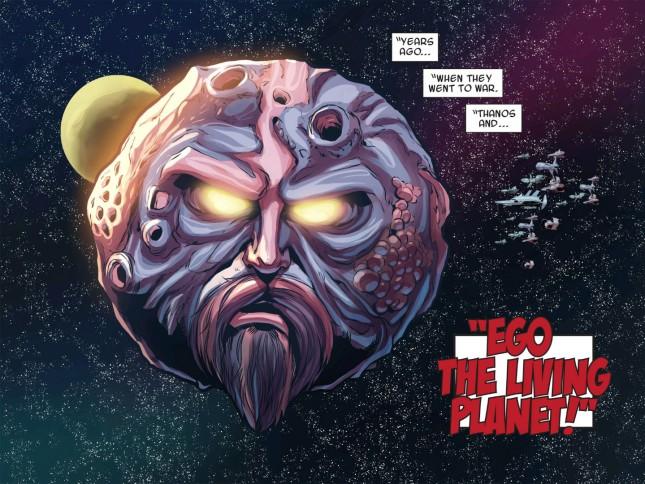 ego planeta viviente guardianes galaxia