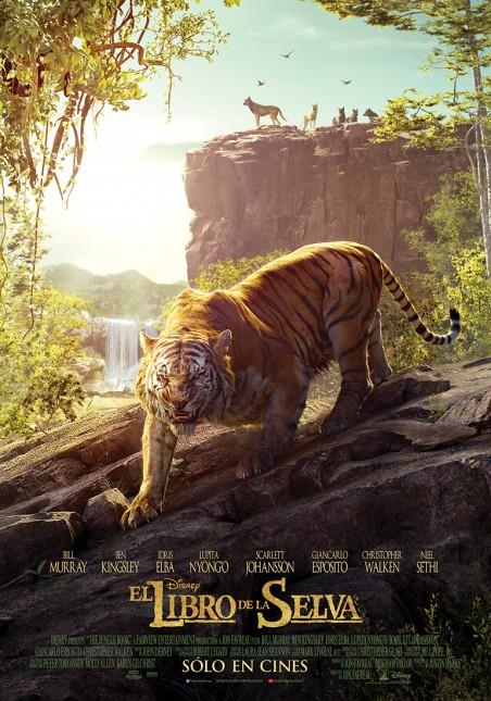 poster 2 libro de la selva shere khan