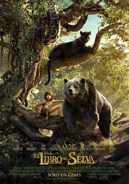 mowgli baloo bagheera el libro de la selva