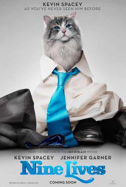 nine lives poster pelicula