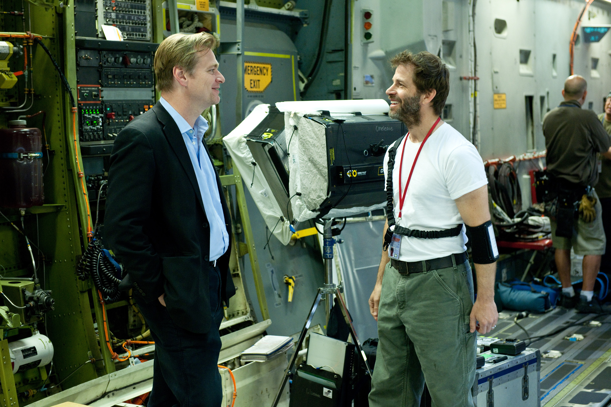 christopher nolan zack snyder