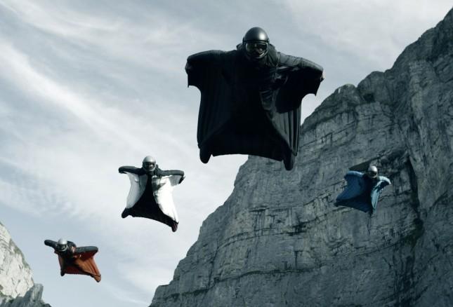 punto de quiebre wingsuits