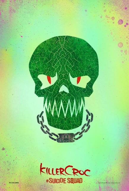 killer croc poster suicide squad