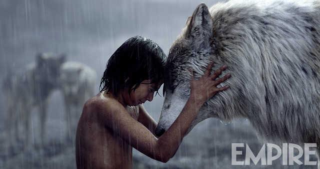 libro de la selva mowgli raksha