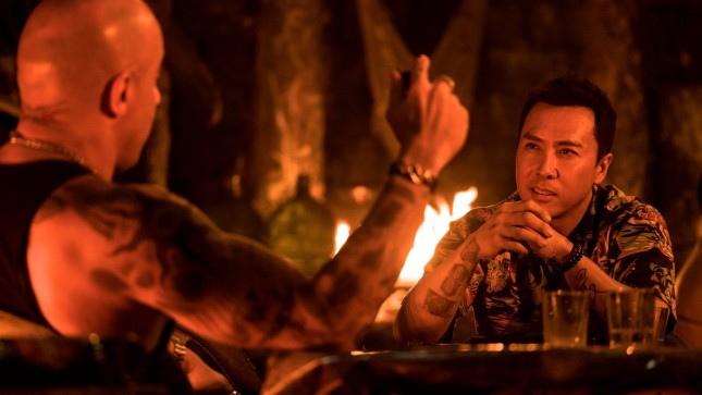 donnie yen vin diesel return xander cage