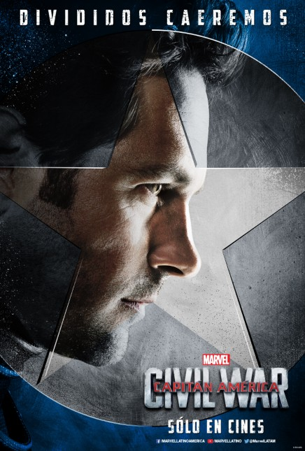 ant-man capitan america civil war poster