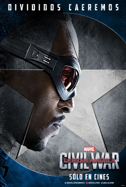 falcon capitan america civil war poster