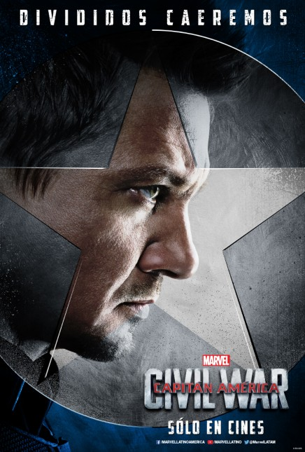 hawkeye capitan america civil war poster