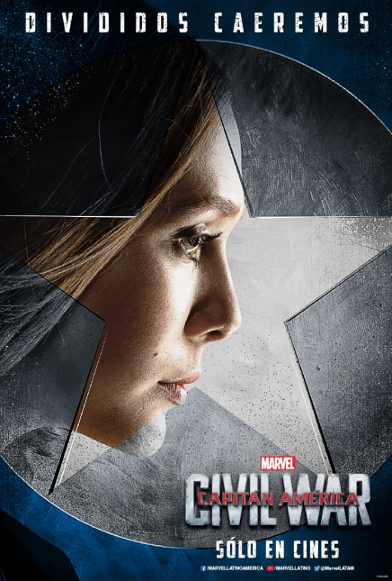 scarlett witch capitan america civil war poster
