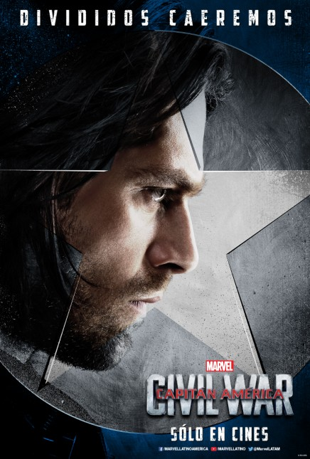 soldado invierno capitan america civil war poster
