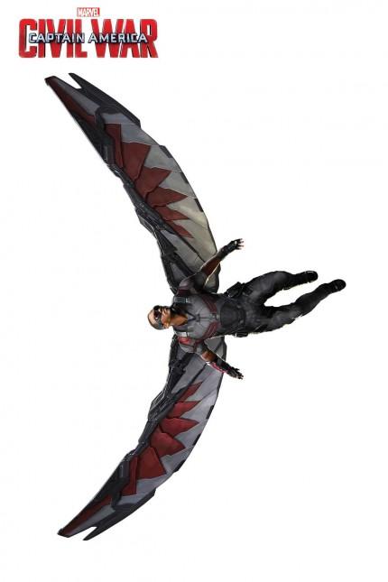 falcon capitan america civil war promo