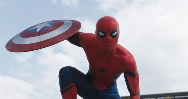 capitan america civil war spider-man hombre araña