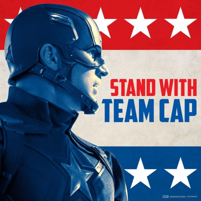 capitan america civil war arte promocional