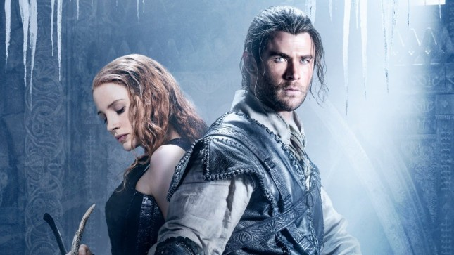 cazador reina del hielo chris hemsworth jessica chastain