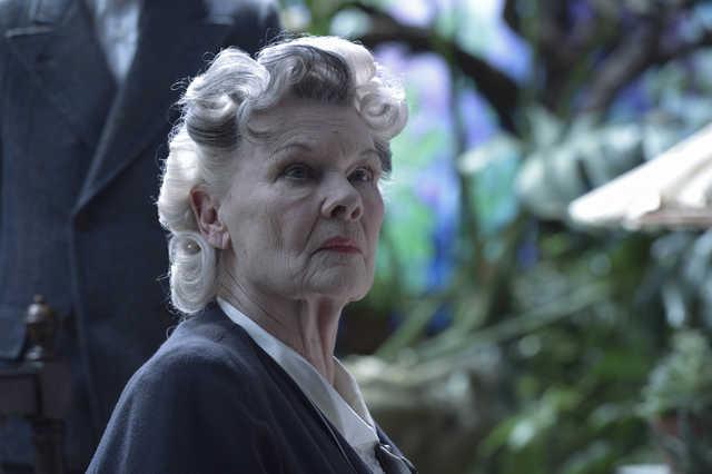El Hogar de Miss Peregrine para Niños Peculiares Judy Dench