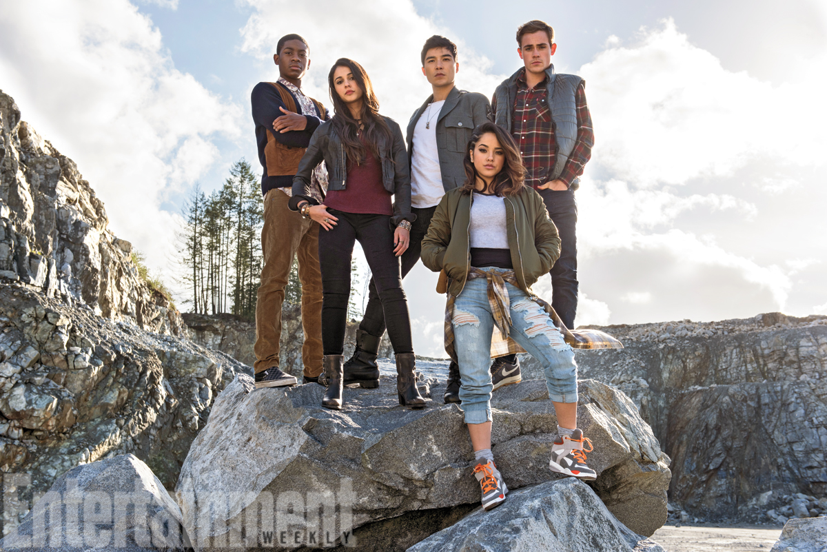 power rangers elenco reboot