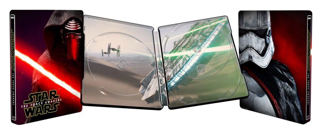 Star Wars: El Despertar de la Fuerza blu ray
