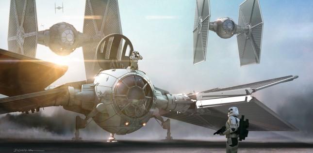 arte conceptual star wars despertar fuerza