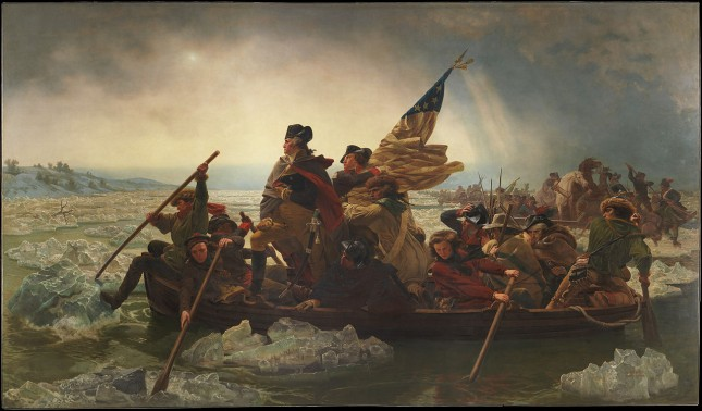 george washington delawere painting