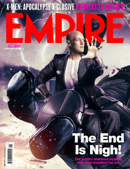 portadas empire x-men apocalipsis