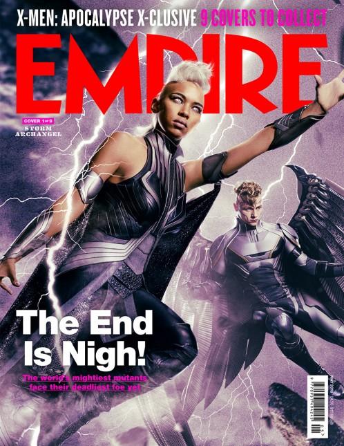 portadas empire x-men apocalipsis