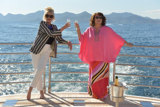 absolutely fabulous pelicula