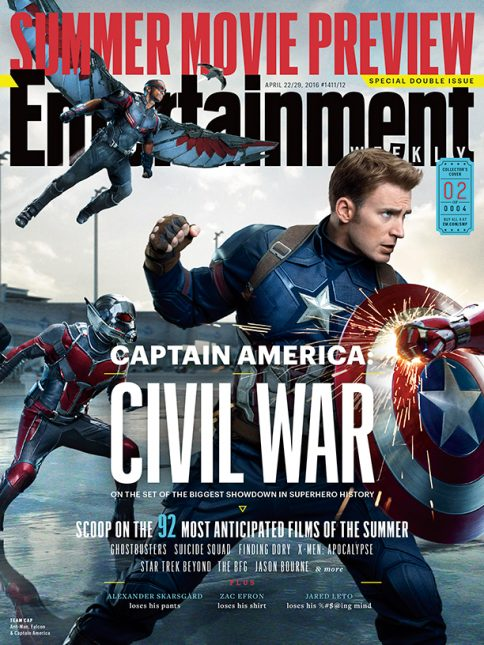 portada ew capitan america civil war