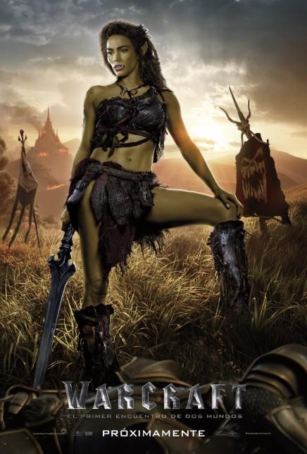 garona warcraft poster