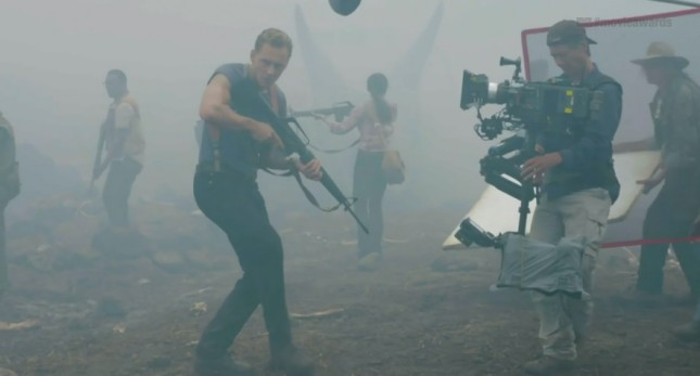 kong skull island tom hiddleston filmacion
