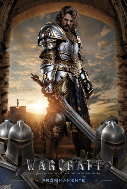 rey llane warcraft poster