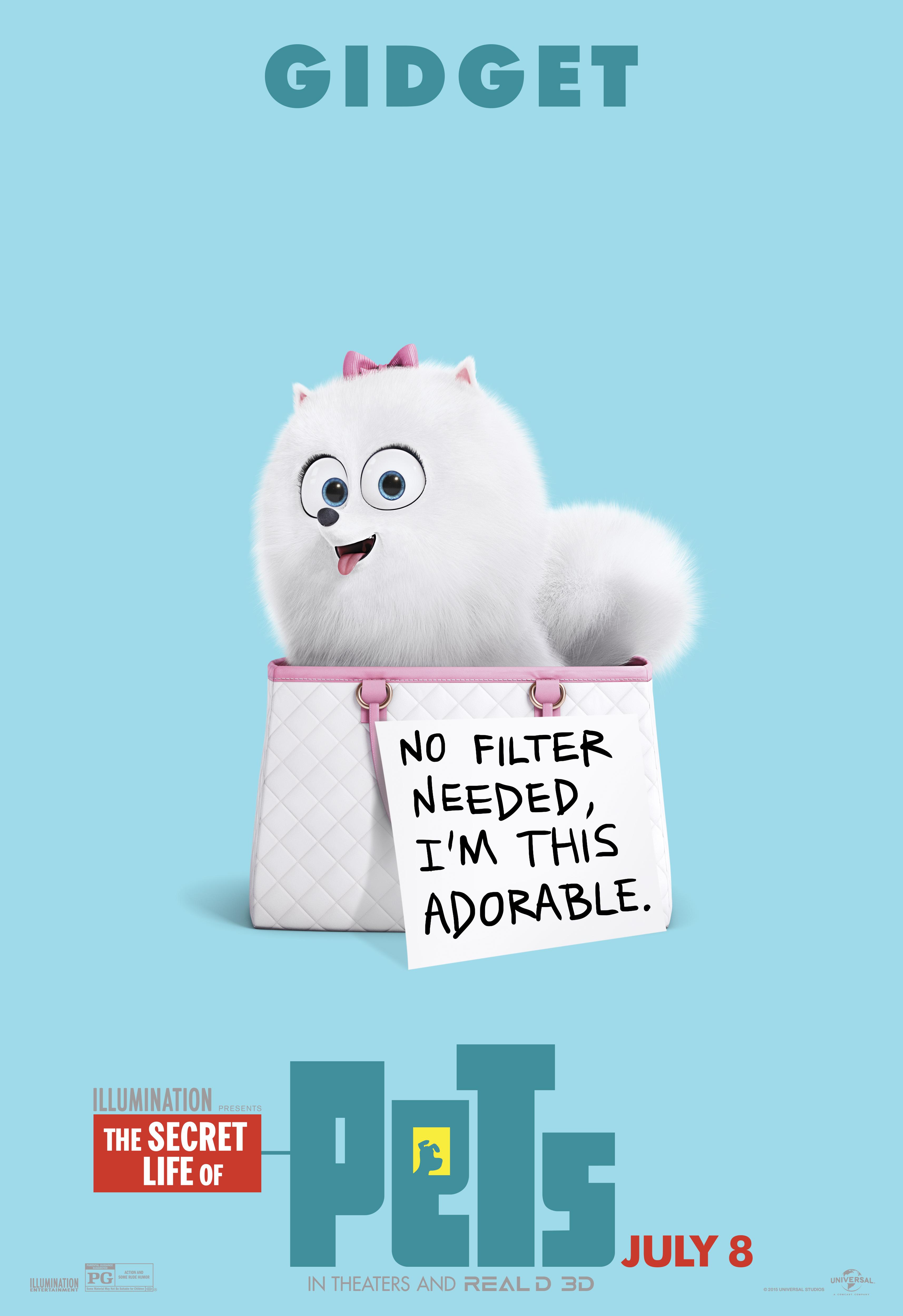 los personajes de la vida secreta de tus mascotas