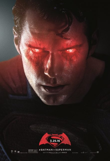 batman v superman poster furioso